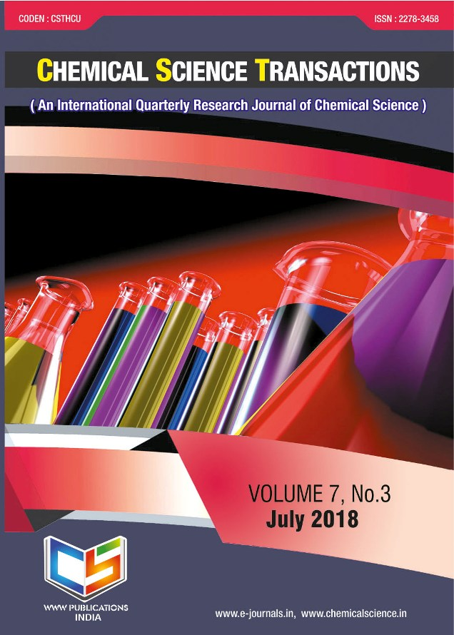 Chemistry Journal  UGC Approved Journal   Chemical Science
